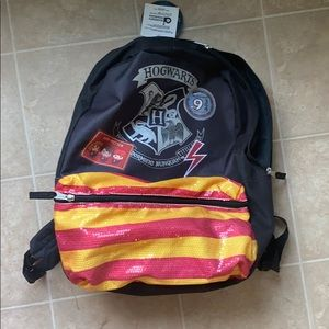 NWT Harry Potter back pack